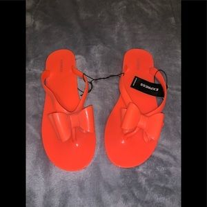 Express beautiful sandals brand new with tags